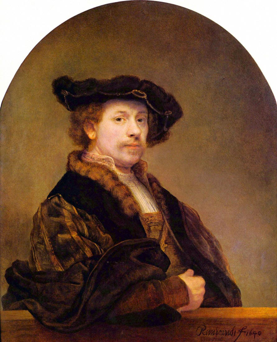 Self-Portrait [5] - Rembrandt